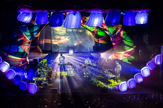 Animal Collective at The Paramount Theatre - Seattle on 2012-09-