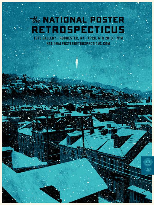 National-Poster-Retrospecticus-Rochester-Daniel-Danger